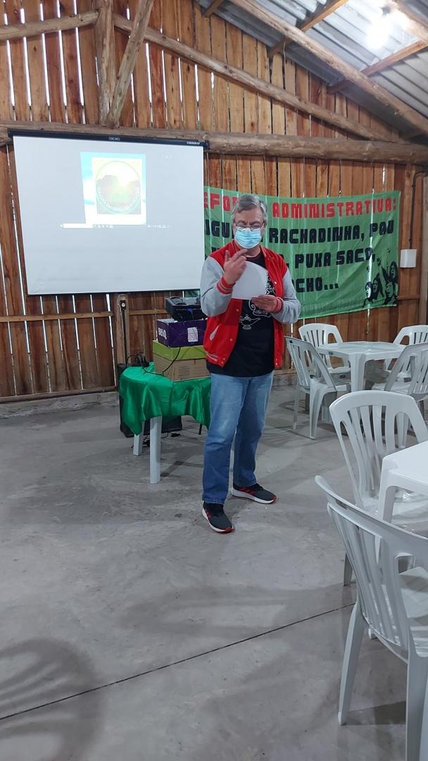 Sergio Assumpção, Presidente da Comissão eleitoral.